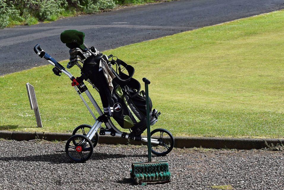 Top Golf Trolleys under £100 1