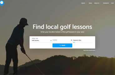 LocoPro - The new website for golfers to find top-rated golf coaches near them 2